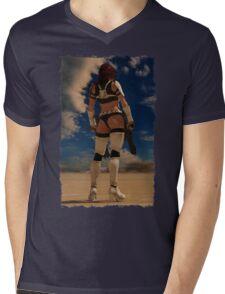 Sexy Storm Trooper Mens V-Neck T-Shirt