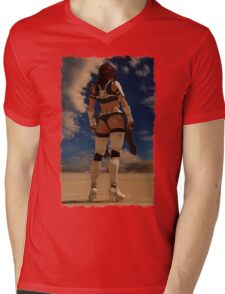 Sexy Storm Trooper Mens V-Neck T-Shirt