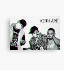 Keith_Ape_R A R E.PNG Canvas Print