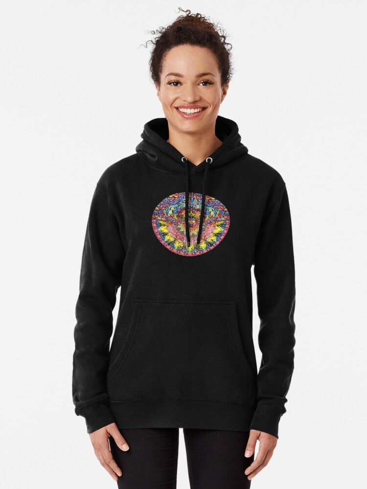 Alternate view of Incandescent Dance Pullover Hoodie