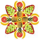 Pina-Collaga Mandala by BetsyRiley
