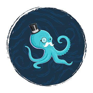 Gentleman Octopus by kuzzie