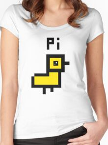 Little baby chicken! Women's Fitted Scoop T-Shirt