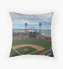 AT&T Park Throw Pillow