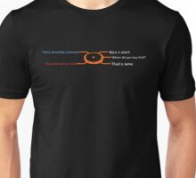 Mass Effect Conversation Unisex T-Shirt