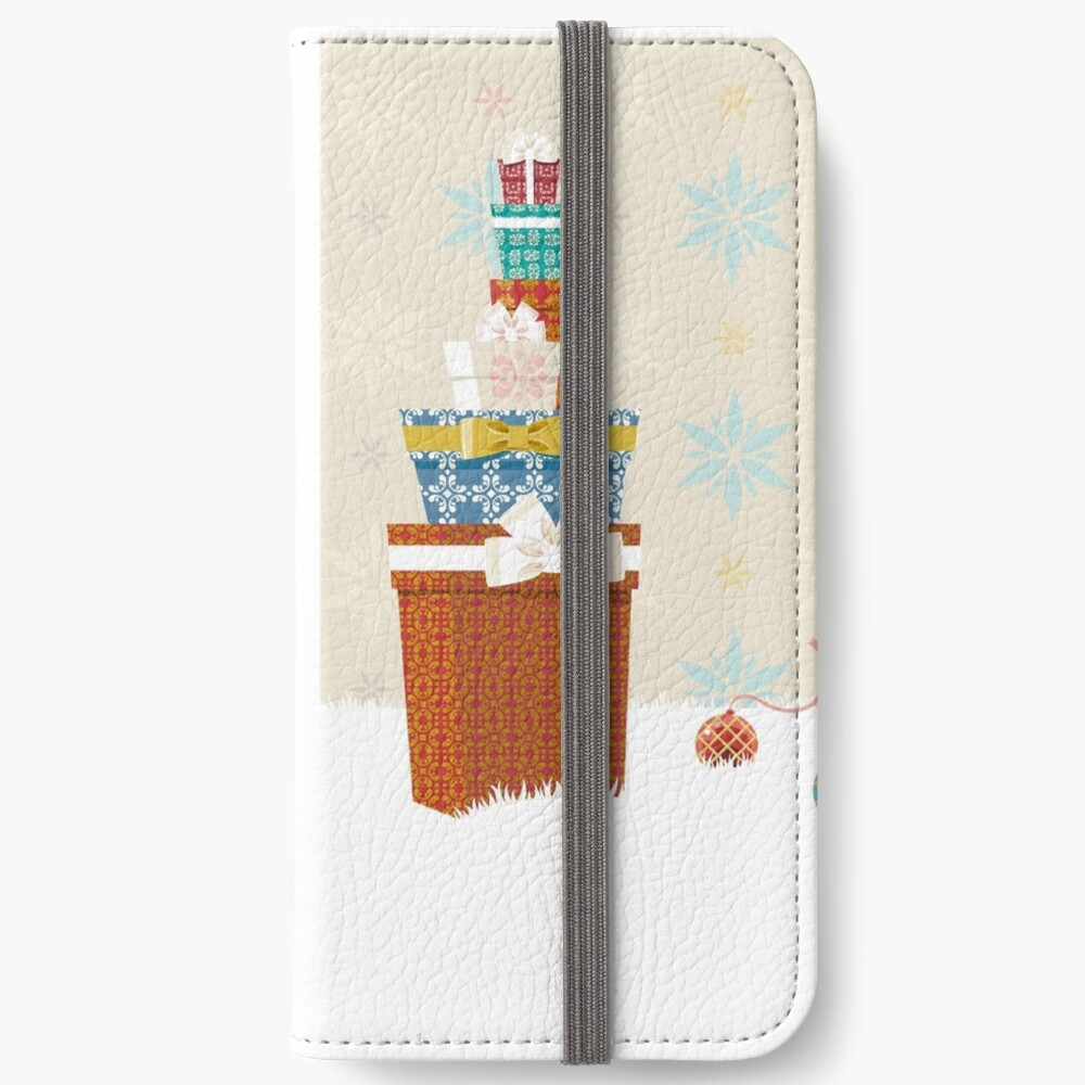 Gifts. Christmas time. iPhone Wallet