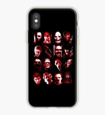 Horror Movie Icons Vector Art iPhone Case