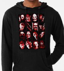 Sudadera con capucha ligera Horror Movie Icons Vector Art