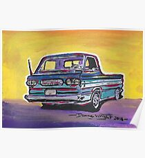 Corvair Greenbrier Poster