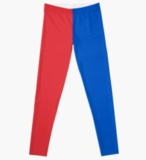 Red and Blue Leggings