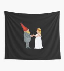 Gnome Wedding Vows Wall Tapestry
