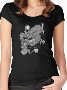Dragon Japanese Women's Fitted Scoop T-Shirt