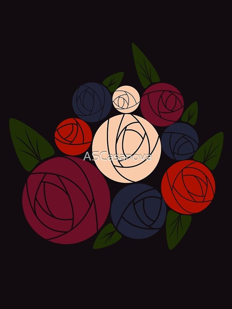 Minimal roses by ASCasanova