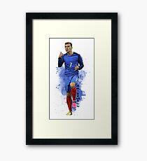 Antoine Griezmann Gerahmtes Wandbild