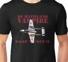 De Havilland Vampire SAAF Museum Unisex T-Shirt