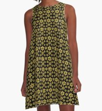 Star of David Pattern  A-Line Dress