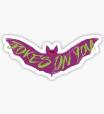 The Joking Bat Sticker