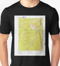 USGS TOPO Map California CA Dunsmuir 297367 1954 62500 geo T-Shirt