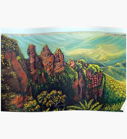 Timeless, Blue Mountains Poster