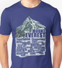 Mount Everest - Routes T-Shirt