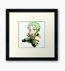 One Piece - Zorro Framed Print