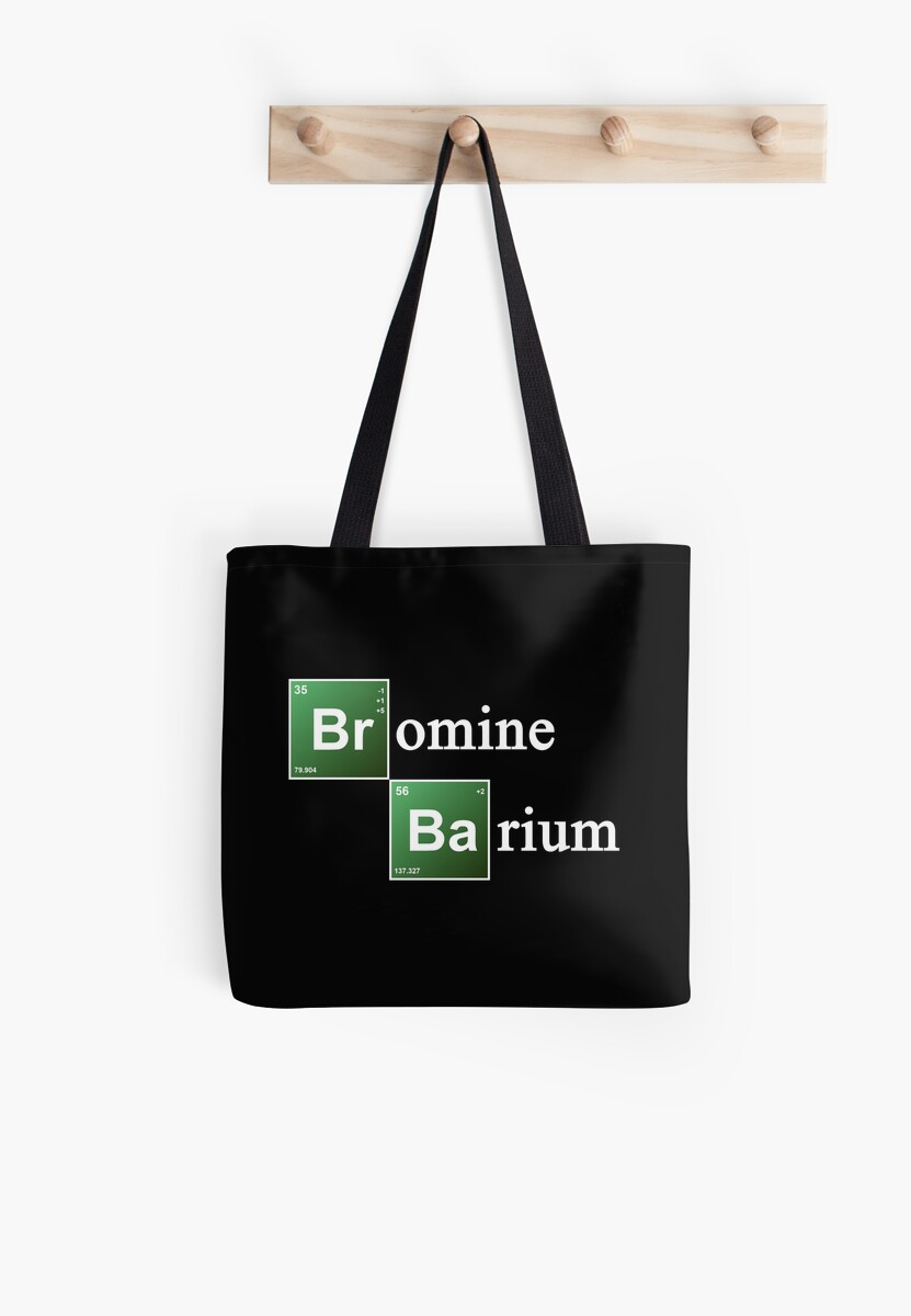 Periodic table barium and bromine periodic diagrams science bromine and barium periodic table chemistry elements tote bags by gamestrikefo Gallery