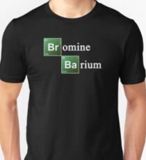Bromine and Barium Periodic Table Chemistry Elements Unisex T-Shirt