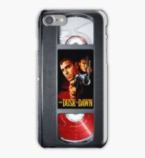From Dusk Till Dawn VHS case 1995 iPhone Case/Skin