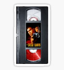 From Dusk Till Dawn VHS case 1995 Sticker