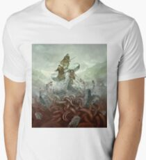 Dragon Warriors Players Book V-Neck T-Shirt