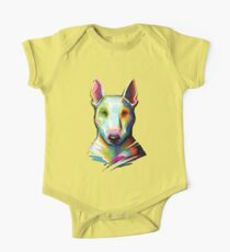Bull Terrier Digital Painting Kids Clothes