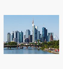 Frankfurt Skyline Photographic Print