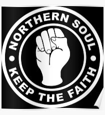 Northern Soul Keep the Faith Poster