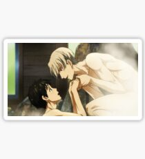 Hand Holding in the Onsen~ Sticker