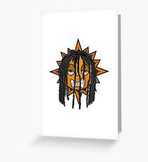 Glo Gang  Greeting Card