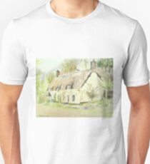 Picturesque Dunster Cottage T-Shirt