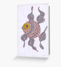 Clown fish  (original sold) Greeting Card
