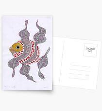 Clown fish  (original sold) Postcards