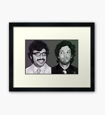 If you're into it. Framed Print