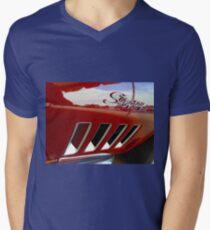 Stingraflection Mens V-Neck T-Shirt