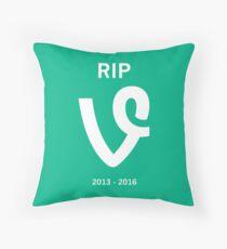 RIP vine v1 Throw Pillow