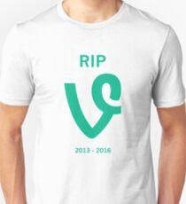 Camiseta unisex RIP Vine v2