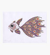 Fish of hearts  (original sold) Photographic Print