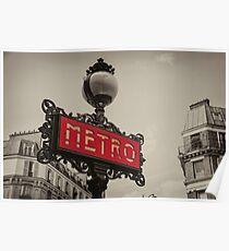 Metro  Poster