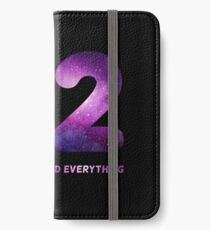 42 iPhone Wallet/Case/Skin