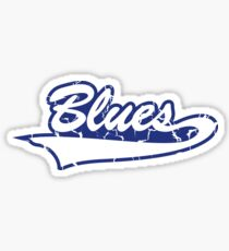 Blues! Good 'ol Blues! Sticker