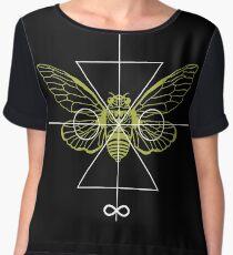 Cicada Chiffon Top