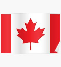 Flag Canada Poster