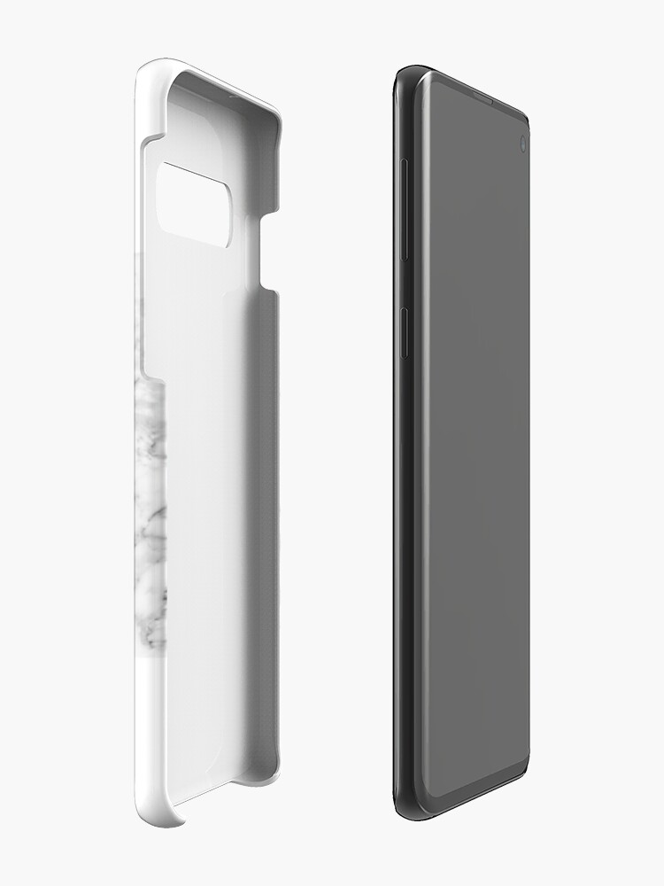 Alternate view of Cat on marble Case & Skin for Samsung Galaxy