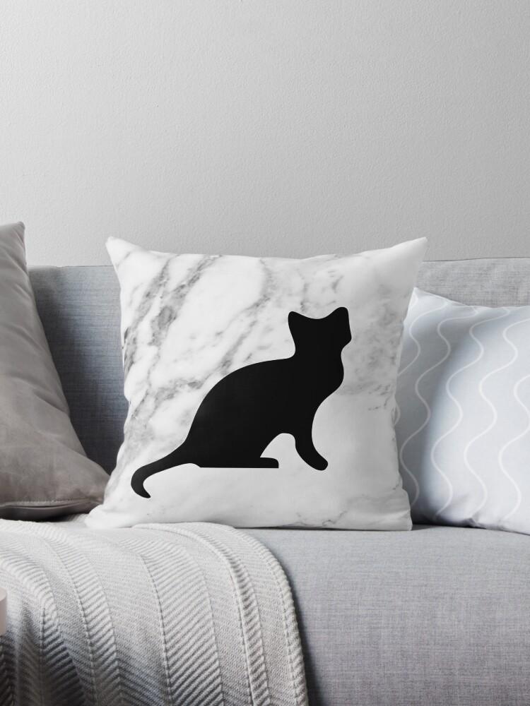 «Gato en mármol» de peggieprints